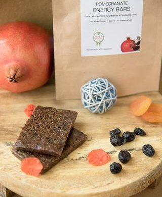 Pomegranate Energy Bar